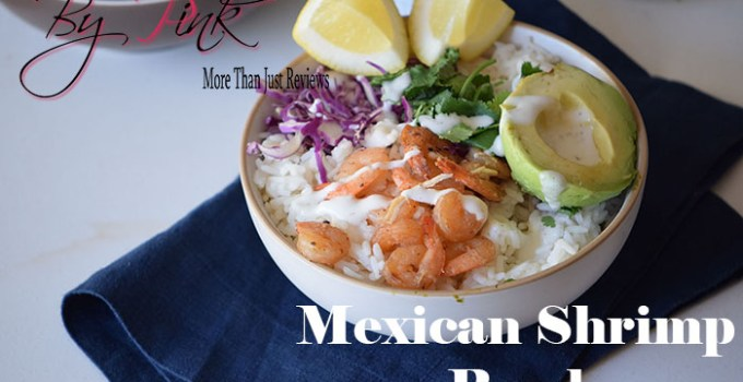 Gluten Free Mexican Shrimp Bowl