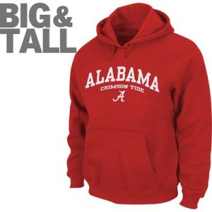Big and Tall Alabama Crimson Tide Apparel, Plus Size Alabama Crimson Tide Hoodie
