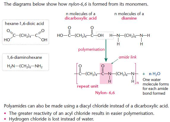 Polymers a2-level-level-revision, chemistry, aromatics-amines