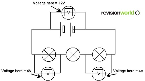 series circuit voltage activity