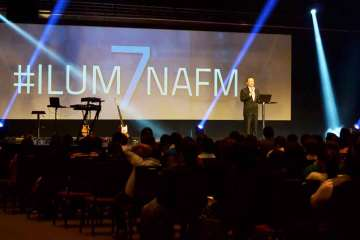 Roberto Jimenez, director de Ilumina FM. / Fotografía: ActitudNews