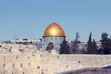 Vista panorámica del Templo de Jerusalén / Foto: Luis Rivera