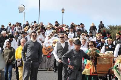 La romería y ofrenda La Candelaria y San Blas 2018 se celebró ayer domingo