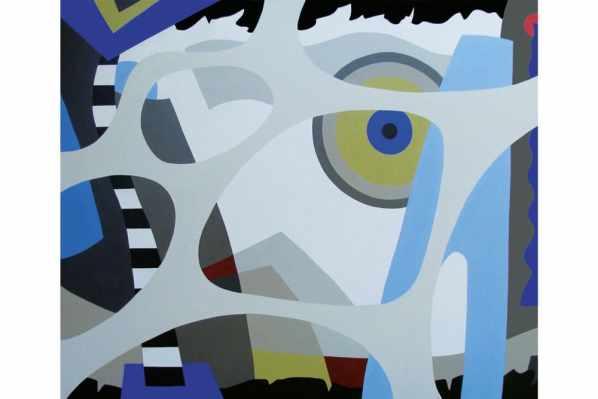 Dialogo 16 Acrílico sobre canvas - 100 x 120 cm