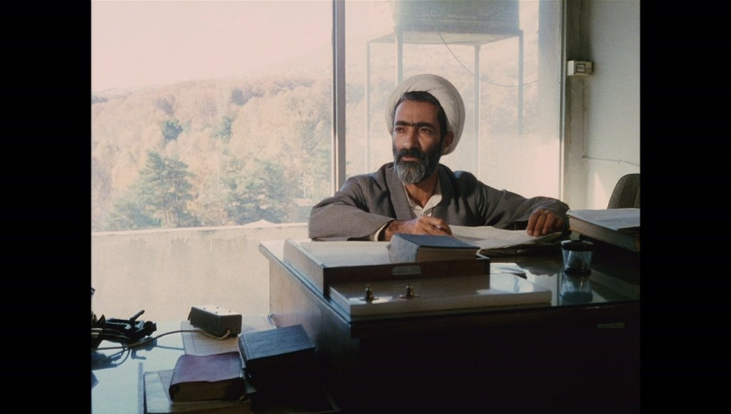 O juiz Haj Ali Reza Ahmadi