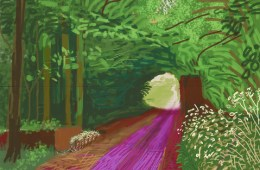 HOCKNEY ipad painting1