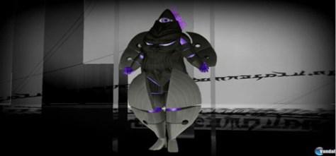 Figura 6: Los Vigilantes ocultan sus rostros en armaduras