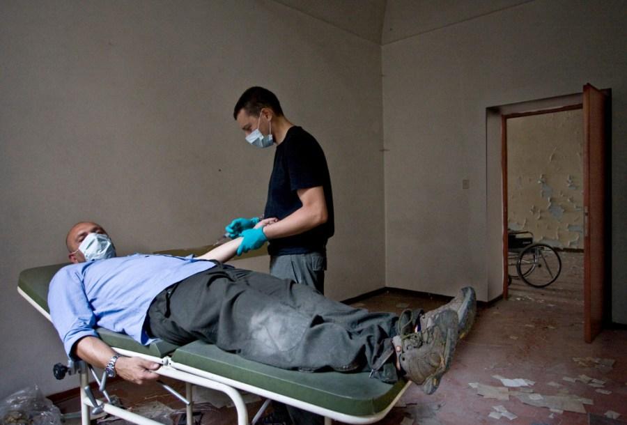 hospital degradado