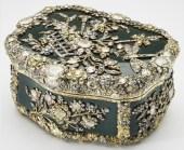 Caixinha de rapé do século XVIII, encrustada, de diamantes, encomendada por Frederico, o Grande, Rei da Prússia.