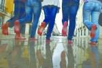 Um Dia Sem Sapatos pela 1ª vez em Portugal