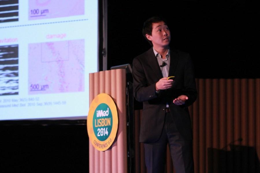 O dinâmico James Choi (fotografia: Pedro Monteiro Palma/Luís Rodrigues)