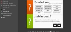 Emular consolas en PC con Emulatorx