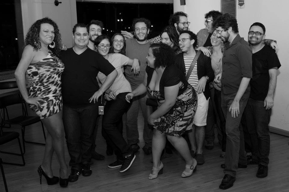 Alguns/mas participantes da revista Geni. Foto de Negrume Souza