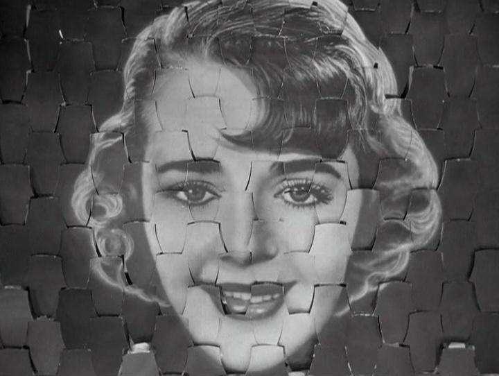 """Os corpos das dançarinas são substituídos pela imagem do rosto  de Ruby Keeler em """"I Only Have Eyes for You"""""""