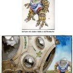 O Astronauta, de Shiko