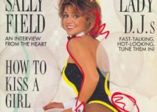 Sally Field en el Playboy de marzo de 1986.