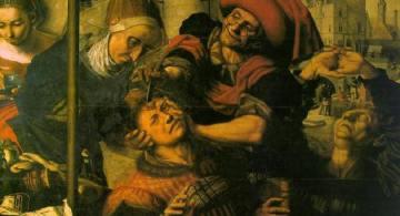 Extracción de la Piedra de la Locura o El Cirujano, Jan Sanders van Hemesen