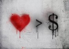 money can't buy me love