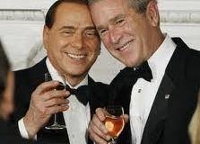 Berlusconi y Bush