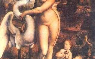 Leda, Leonardo DaVinci, 1515-1516