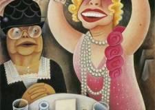 Mrs. Ella Boole & Miss Texas Guinan, Miguel Covarrubias