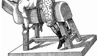 Una de las ilustraciones expuestas