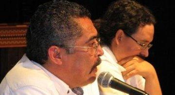 José Antonio Reyes y Alejandro Aldana, escritores chiapanecos