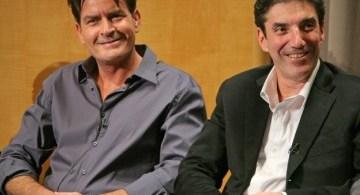 Charlie Sheen y Chuck Lorre