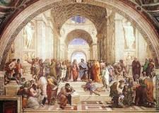 La escuela de Atenas, Rafael Sanzio