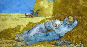 La siesta, Van Gogh