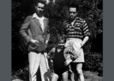 Michel Gallimard y Albert Camus