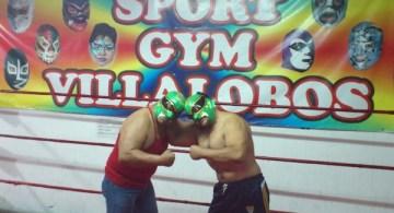 En el gimnasio Villalobos