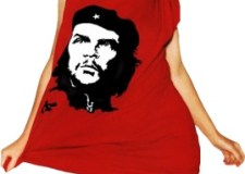 Kylie-Minogue-wearing-a-Che-Guevara-Shirt
