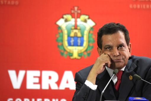 Fidel Herrera, gobernador de Veracruz de 2004 a 2010.