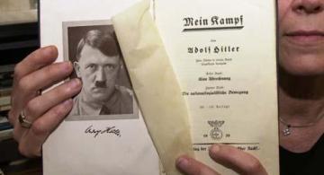 Mi lucha, de Adolf Hitler.