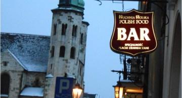Un bar en Cracovia.