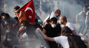 La revuelta turca. Foto © TheAustralian.com.au