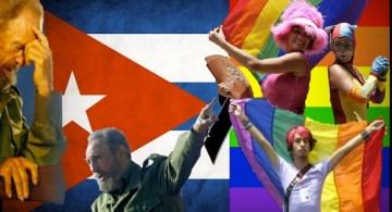 Composicion bidimensional. Noticia. Persecucion homosexual en Cuba
