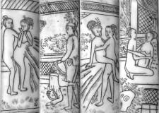 Arte erótico chino, tomado de El erotismo en China, de Robert Burger.
