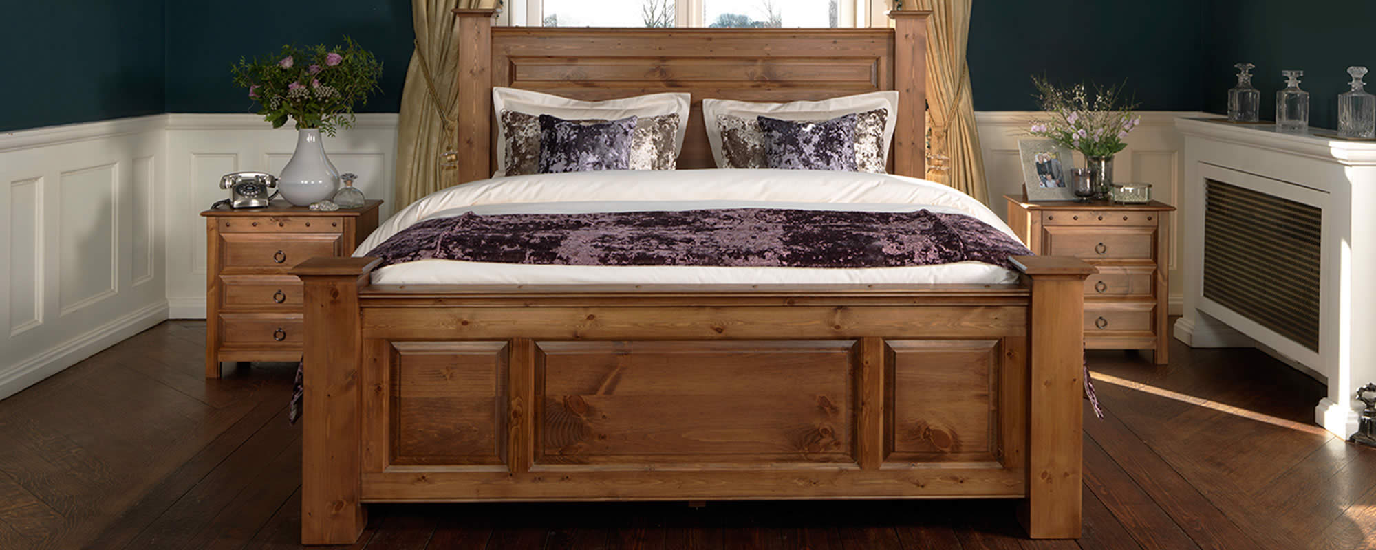 Wood Four Poster Beds Handmade Solid Oak Beds Sleigh Four Poster