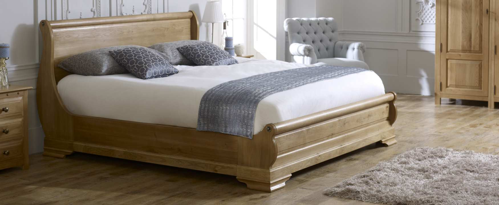 Wooden Beds Solid Wood Beds From Revival Beds Handmade Beds