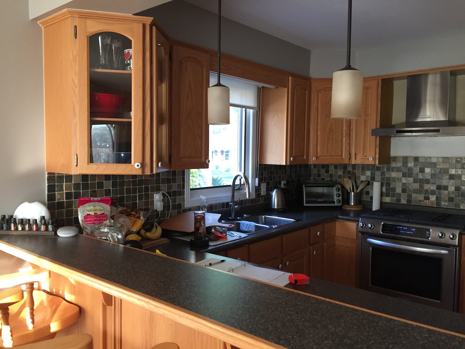 Kitchen Cabinets Regina Regina Two Tone Kitchen Revival Home Renovations
