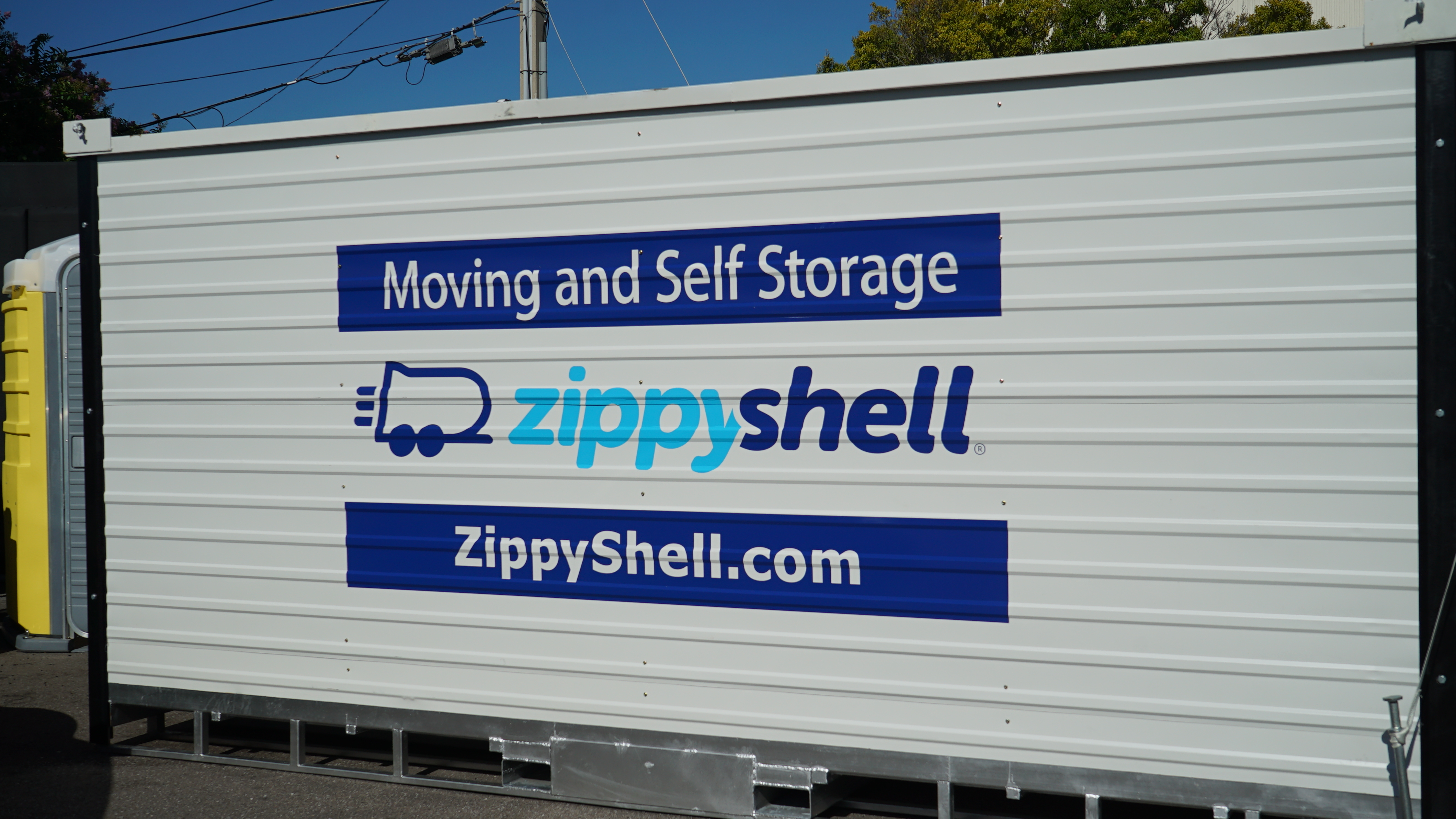 Self Storage Tampa Self Storage Moving Containers In Tampa Bay Fl Zippy Shell