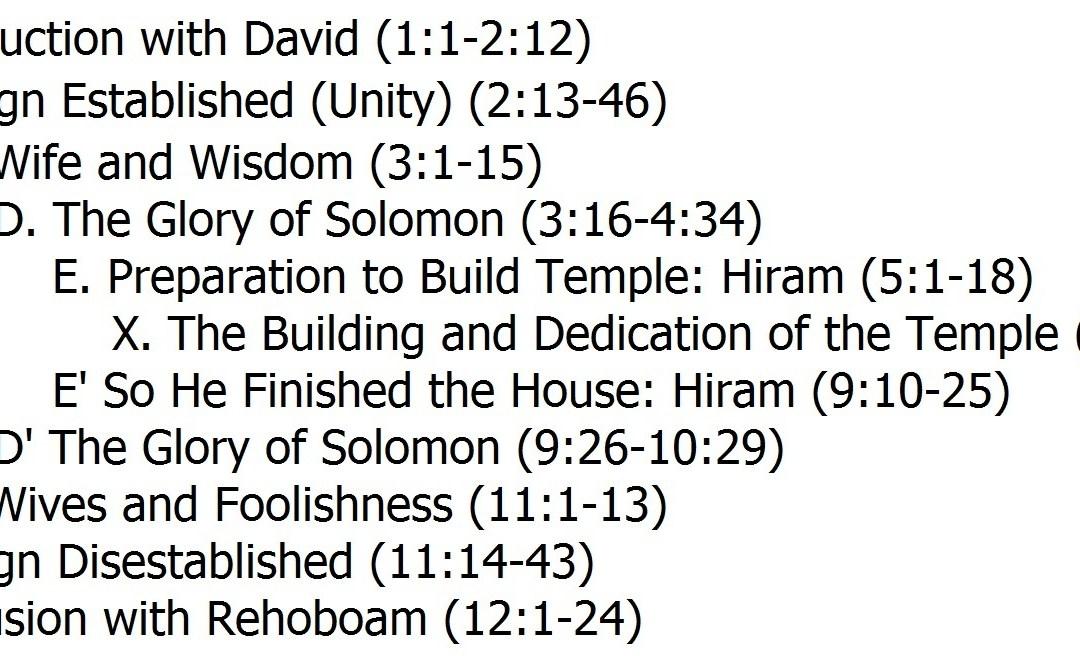Solomon's Wisdom & Folly