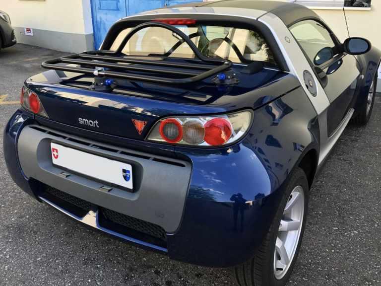 Portapacchi Smart Roadster Nessun Morsetto Per Verniciare