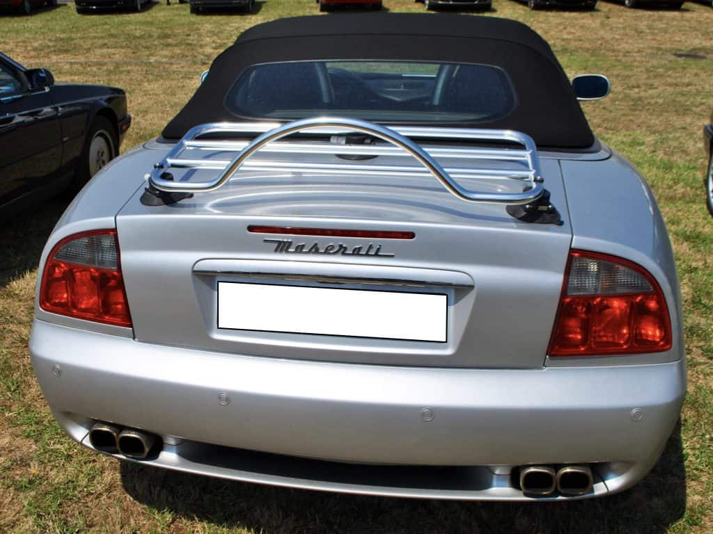 Maserati Spyder Cambiocorsa Luggage Rack No Clamps To