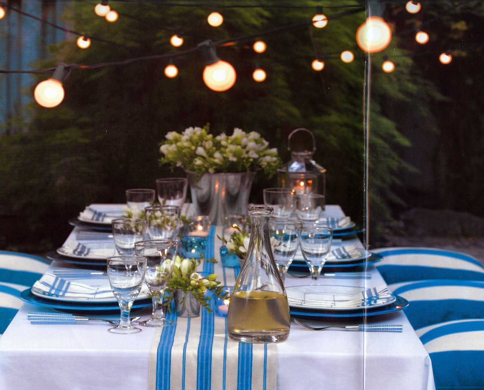 Dinner Table Lighting Ideas 7 Quick Ideas For Outdoor Decorating Guest Post