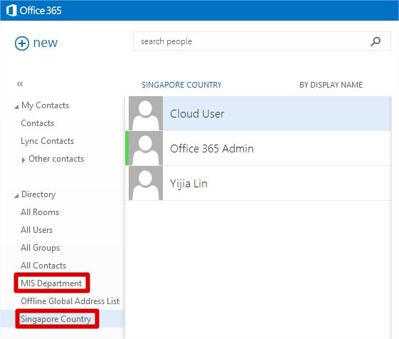 Office 365 W15 \u2013 New Address List Revolving365
