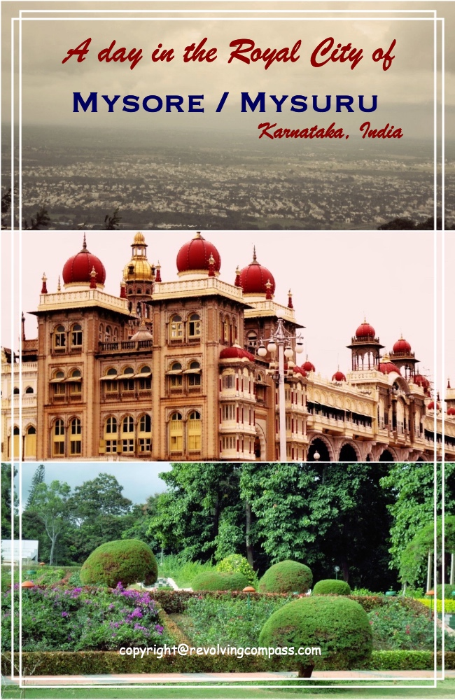 A day in the Royal city of Mysore or Mysuru in Karnataka India. A day trip to Mysore. One day itinerary Mysore. Things to do in Mysore