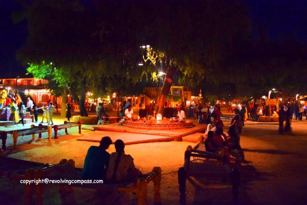 Chokhi Dhani Jaipur – A colorful Ethnic Village setup